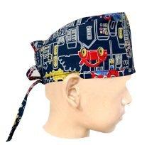 CHILDREN / KIDS PRINTED CAP (Poplin Fabric)